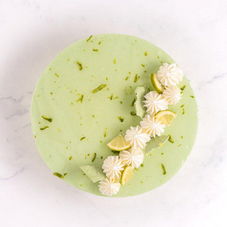 Lemon Bavaroise taart